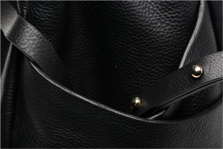 TALARA STAR Porté main cuir Black