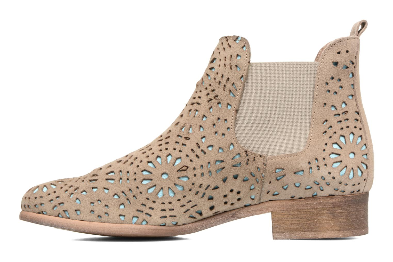 Ankle boots Bunker Zola Brenda Beige front view