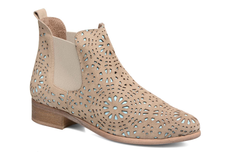 Grandes descuentos últimos zapatos Bunker Zola Brenda (Beige) - Botines  Descuento