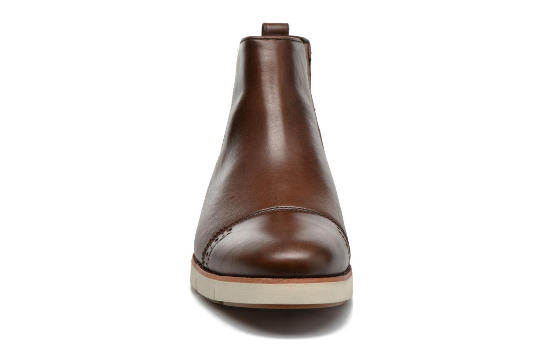 Bottines et boots Timberland Preston Hill Chelsea Marron vue portées chaussures