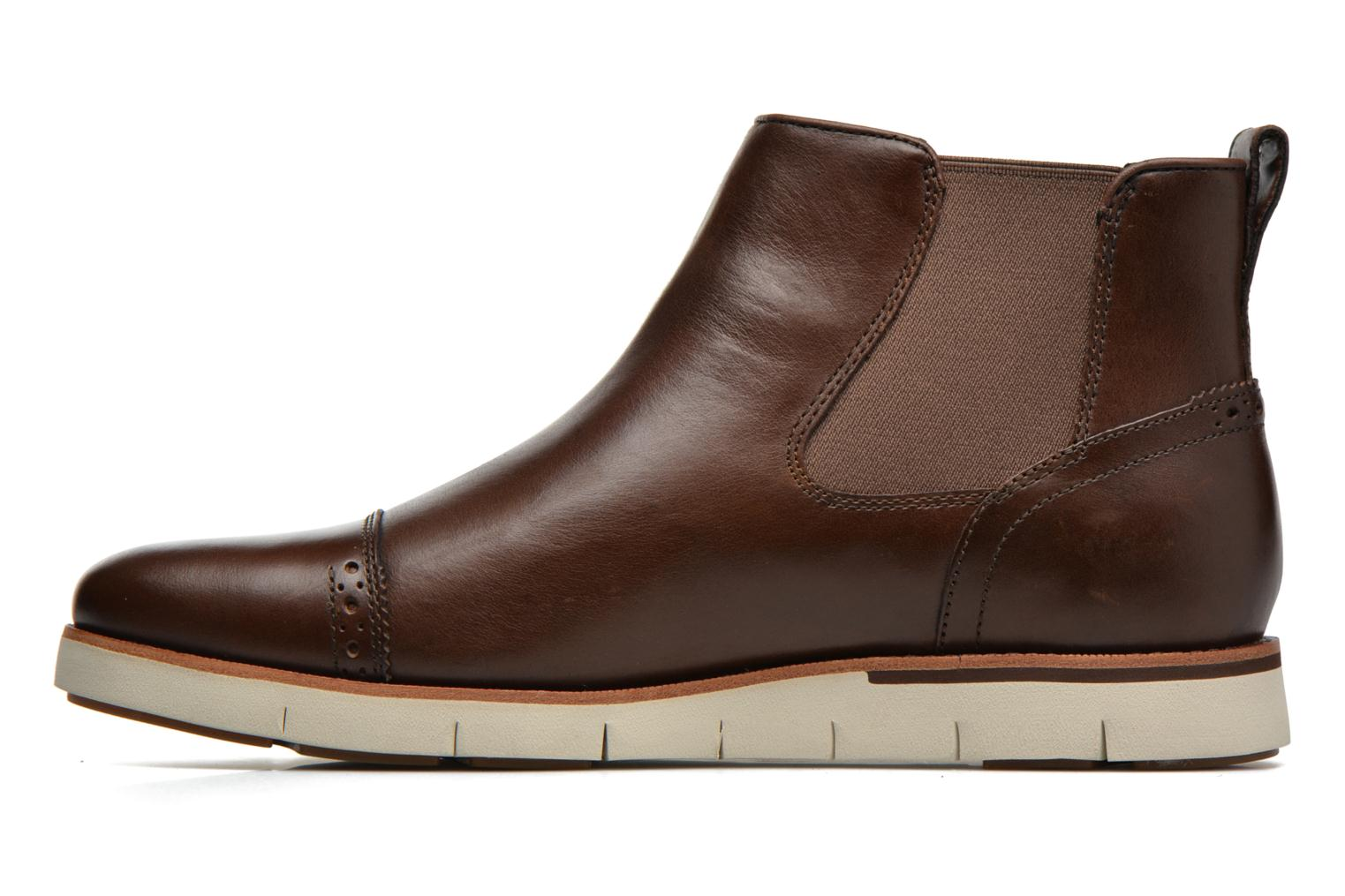 Ankle boots Timberland Preston Hill Chelsea Brown front view
