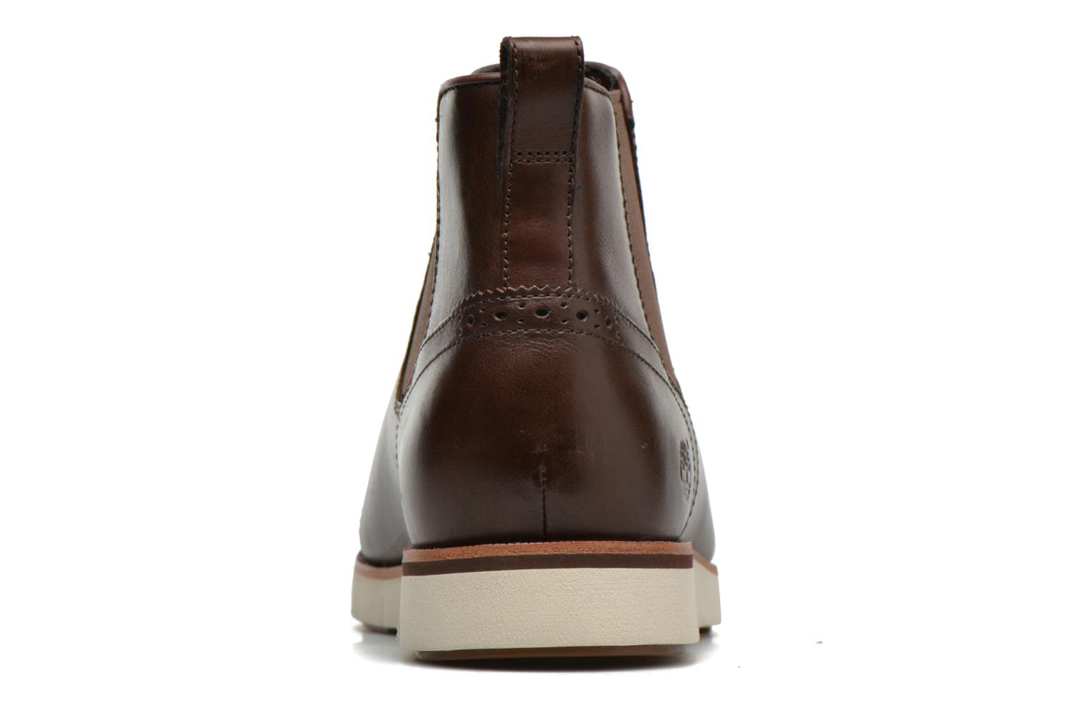 Ankle boots Timberland Preston Hill Chelsea Brown view from the right