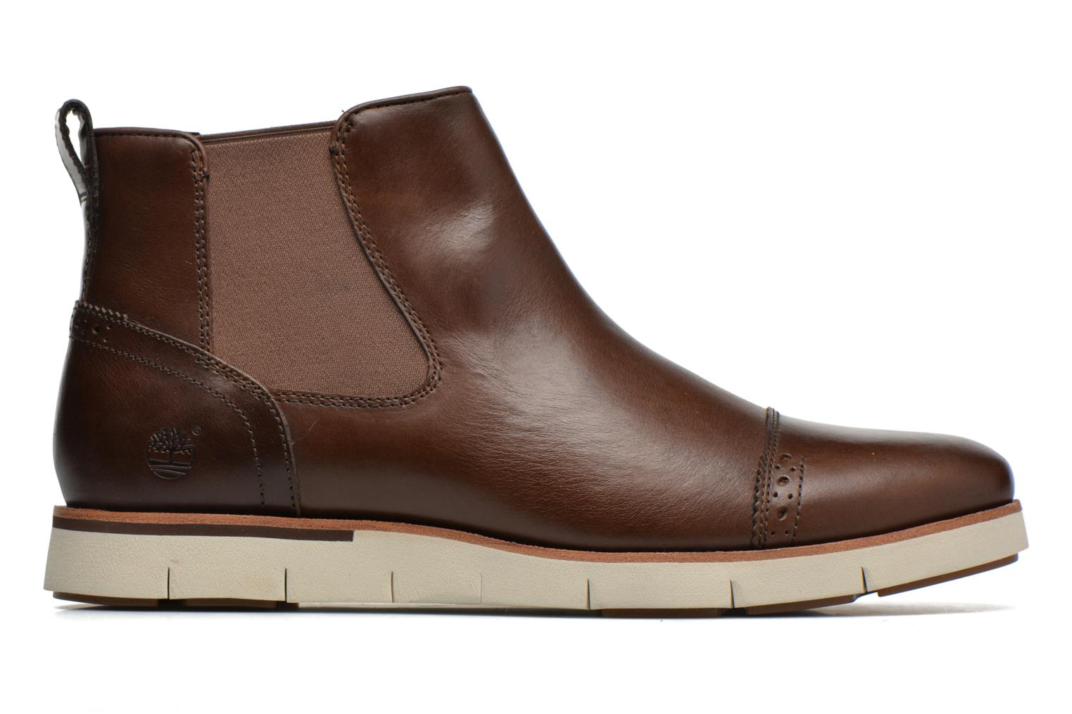 Ankle boots Timberland Preston Hill Chelsea Brown back view