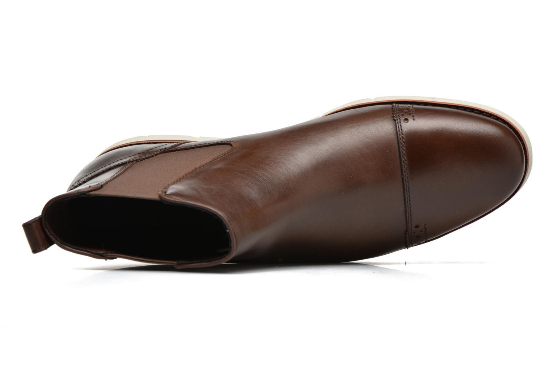Bottines et boots Timberland Preston Hill Chelsea Marron vue gauche