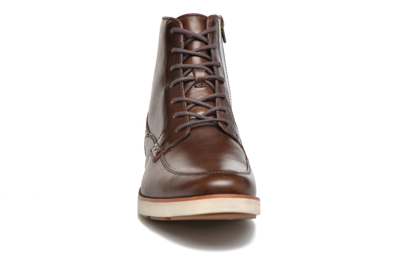 Bottines et boots Timberland PrestonHil 6 SideZ Marron vue portées chaussures