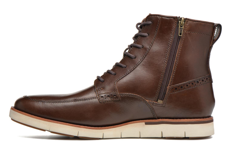 Bottines et boots Timberland PrestonHil 6 SideZ Marron vue face