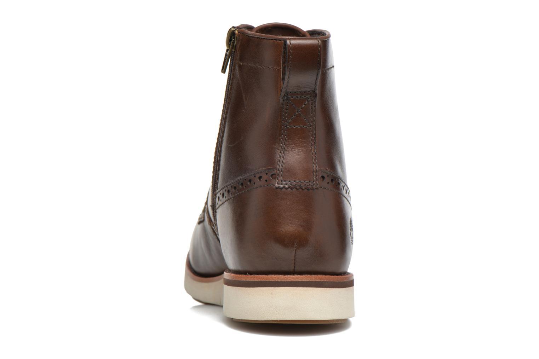 Bottines et boots Timberland PrestonHil 6 SideZ Marron vue droite