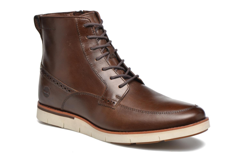Bottines et boots Timberland PrestonHil 6 SideZ Marron vue détail/paire