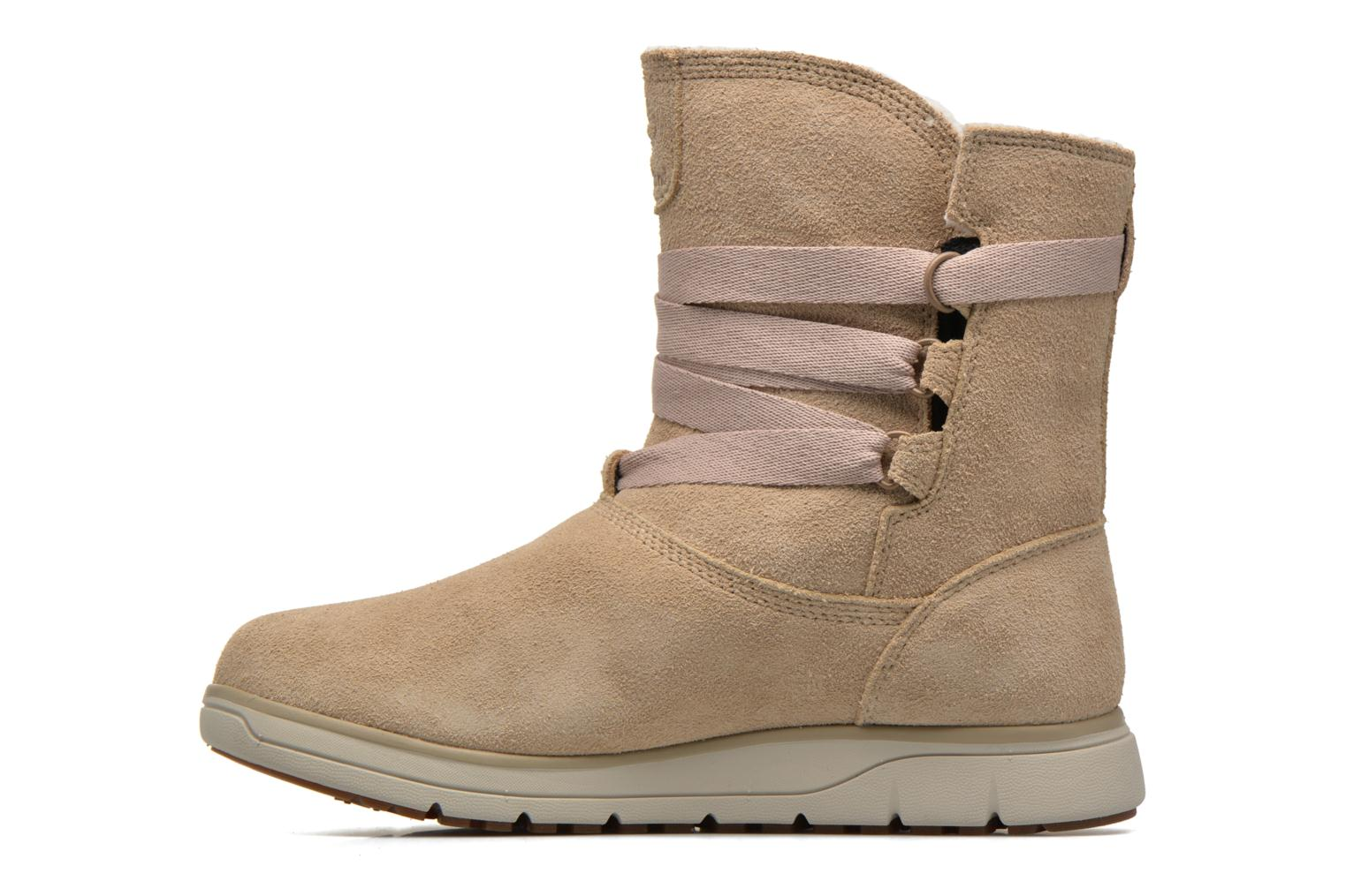 Bottines et boots Timberland Leighland Pull On WP Beige vue face
