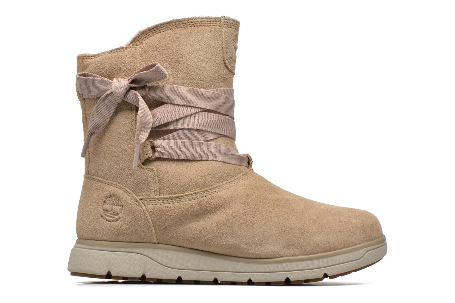 Ankle boots Timberland Leighland Pull On WP Beige back view