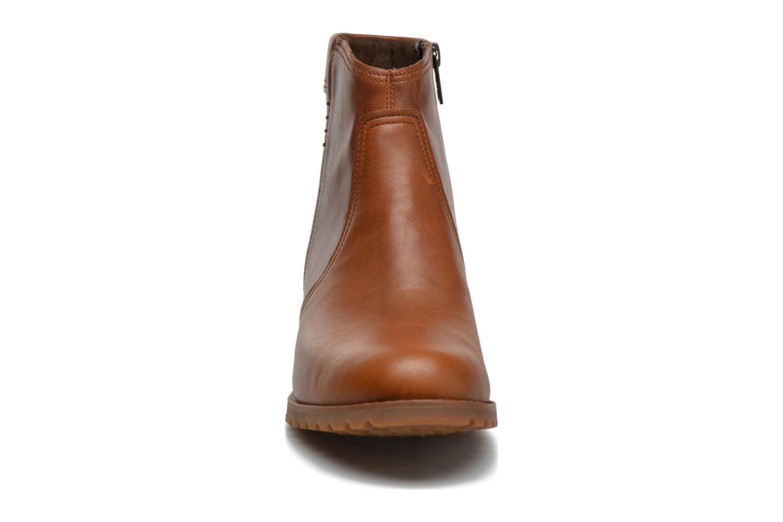 Bottines et boots Timberland Banfield WP Ankle Marron vue portées chaussures