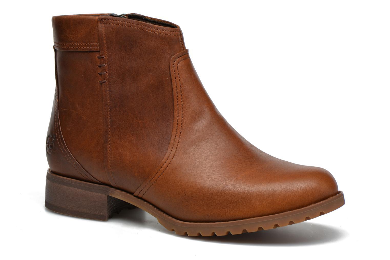 Bottines et boots Timberland Banfield WP Ankle Marron vue détail/paire