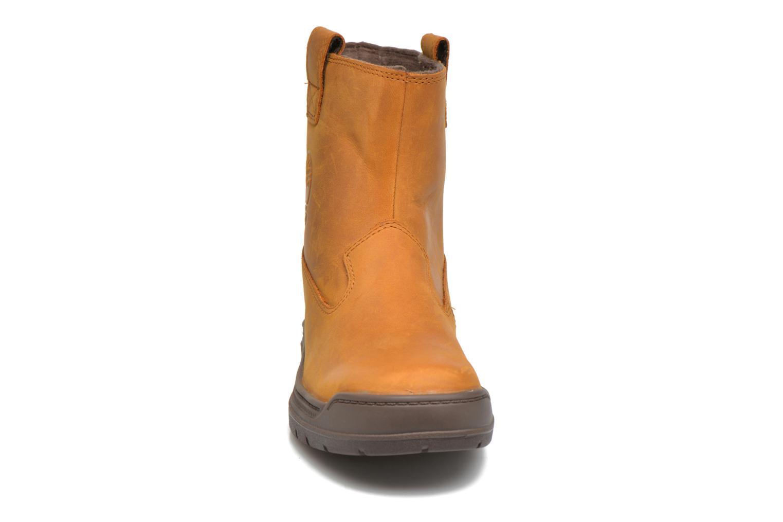 Bottes Timberland Ramble Wild WP Mid B Marron vue portées chaussures