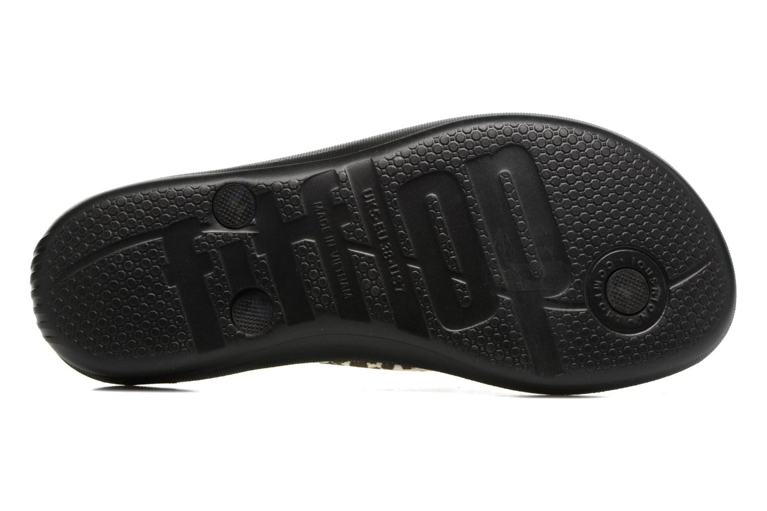 Tongs FitFlop Iqushion Ergonomic Fipflop Noir vue haut