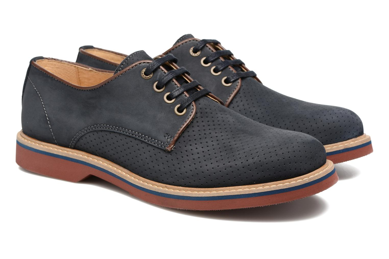 Chaussures à lacets Mr SARENZA Sandoring Bleu vue derrière