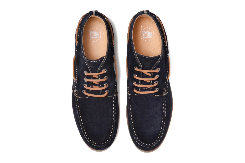 Chaussures à lacets Mr SARENZA Stavanger Bleu vue portées chaussures
