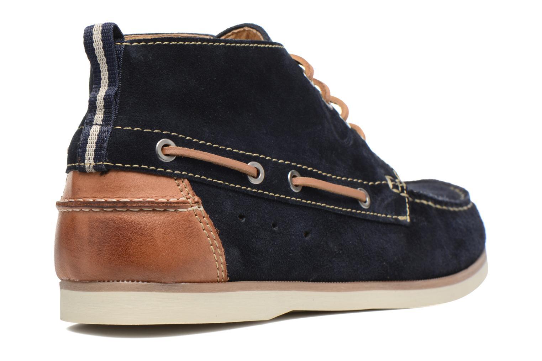 Chaussures à lacets Mr SARENZA Stavanger Bleu vue face
