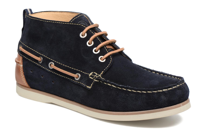 Chaussures à lacets Mr SARENZA Stavanger Bleu vue droite