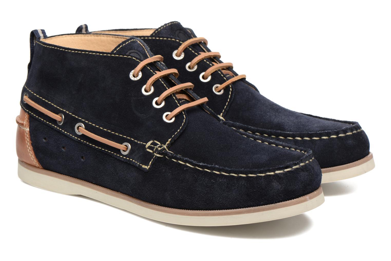 Chaussures à lacets Mr SARENZA Stavanger Bleu vue derrière