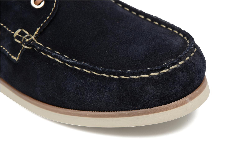 Chaussures à lacets Mr SARENZA Stavanger Bleu vue gauche