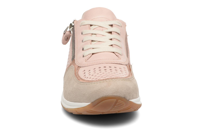 Baskets Ara Osaka 34556 Rose vue portées chaussures
