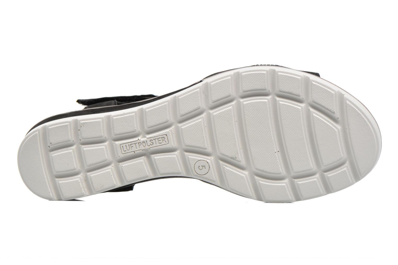 Sandales et nu-pieds Ara Alassio 33526 Noir vue haut
