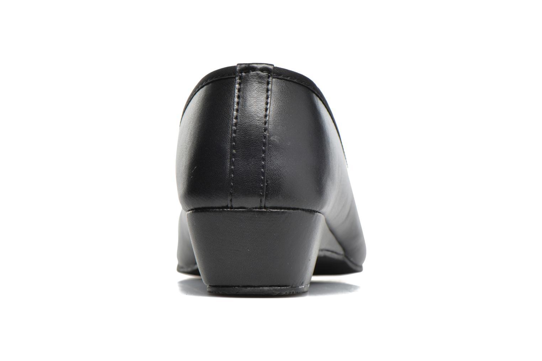 Ballerine nœud gros grain Noir