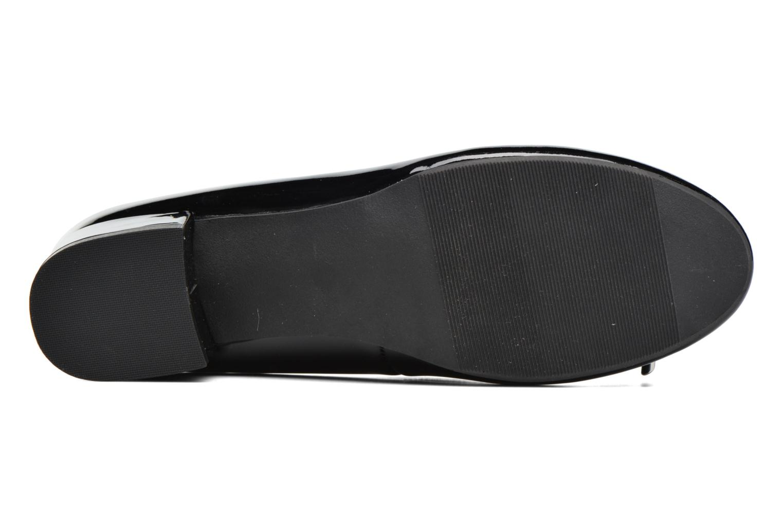 Ballerine vernis talon 3.5cm Noir