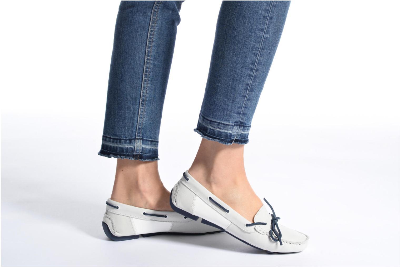 Chaussures à lacets TBS Bettsy Bleu vue bas / vue portée sac