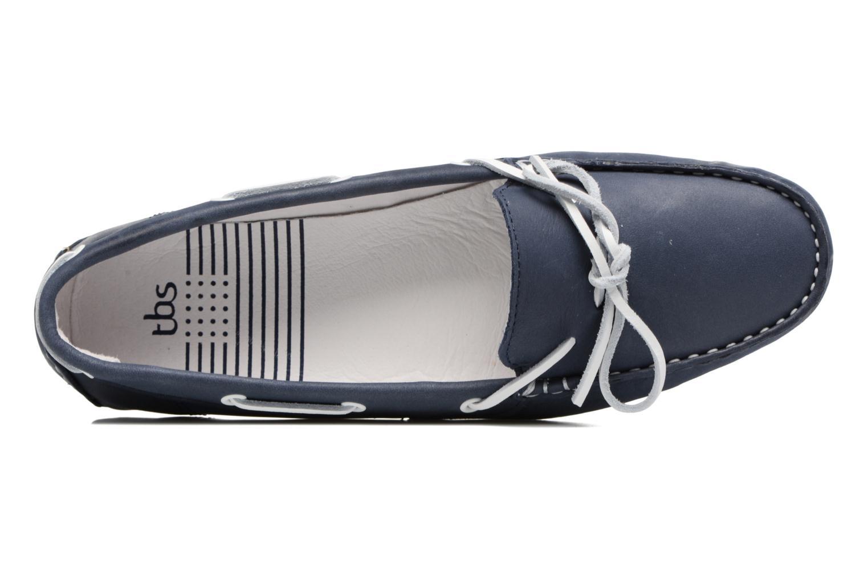 Chaussures à lacets TBS Bettsy Bleu vue gauche