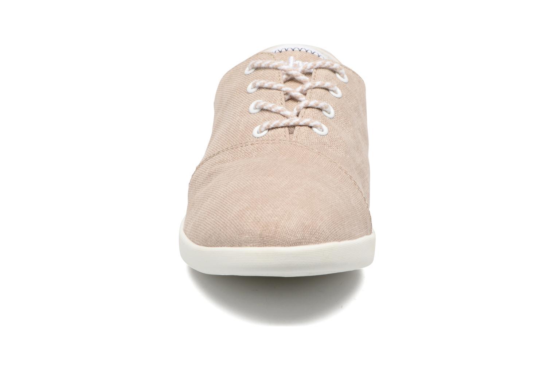 Chaussures à lacets TBS Teodora Beige vue portées chaussures
