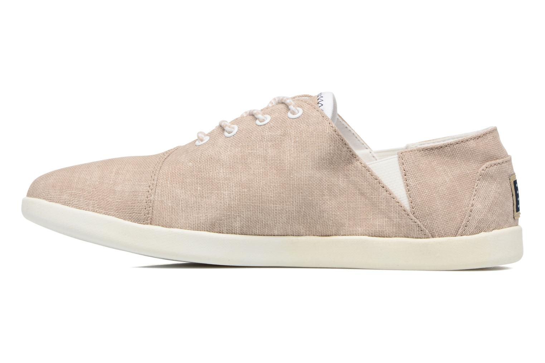 Chaussures à lacets TBS Teodora Beige vue face