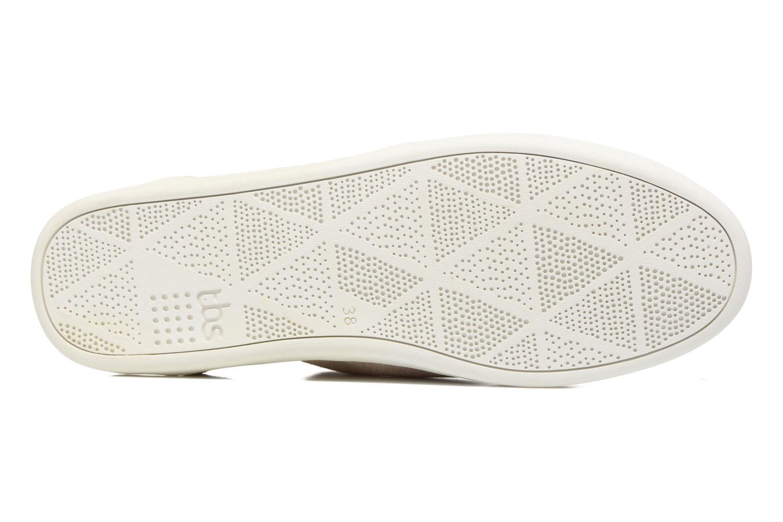Chaussures à lacets TBS Teodora Beige vue haut