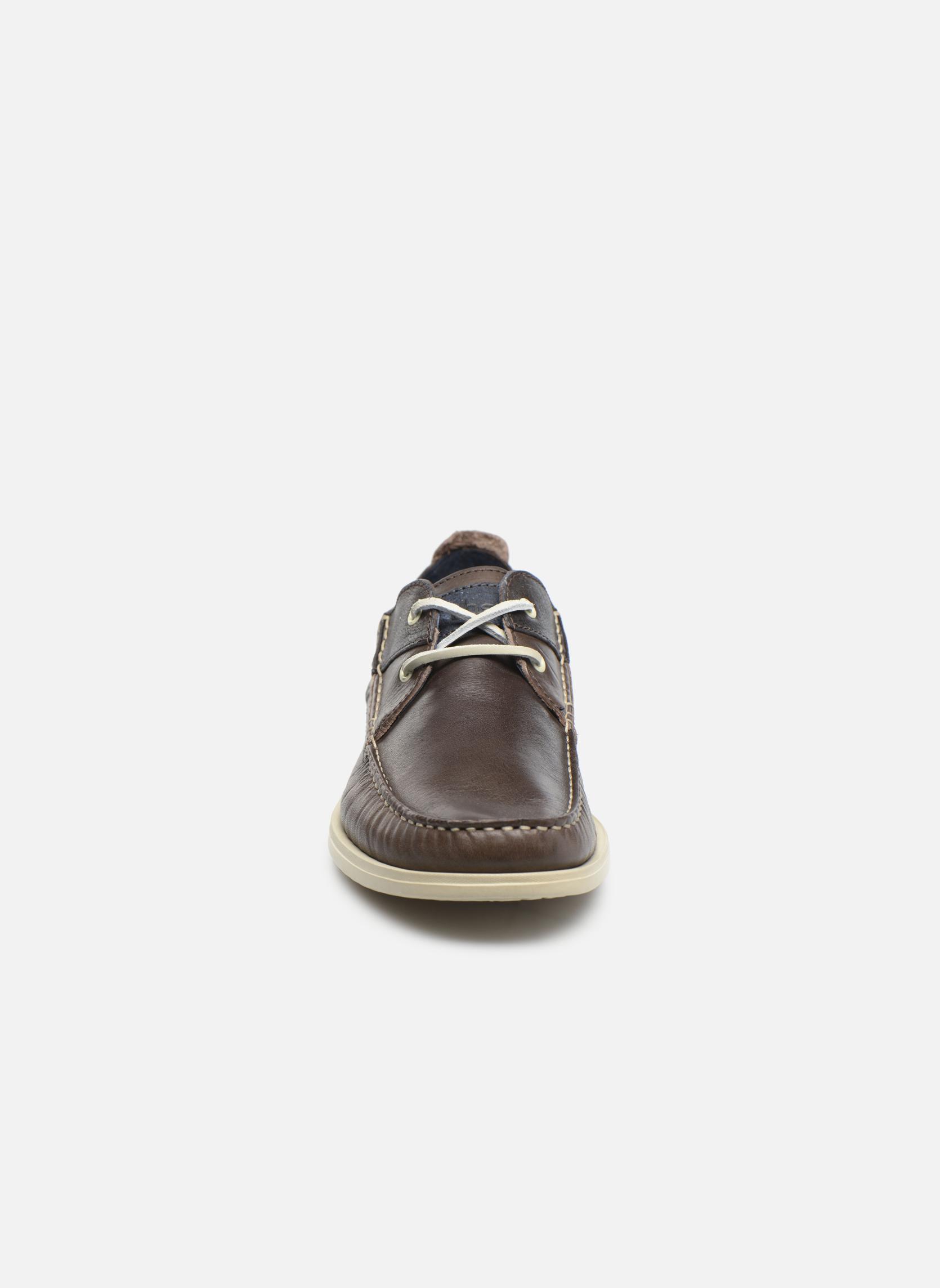 Chaussures à lacets TBS Fortye Marron vue portées chaussures