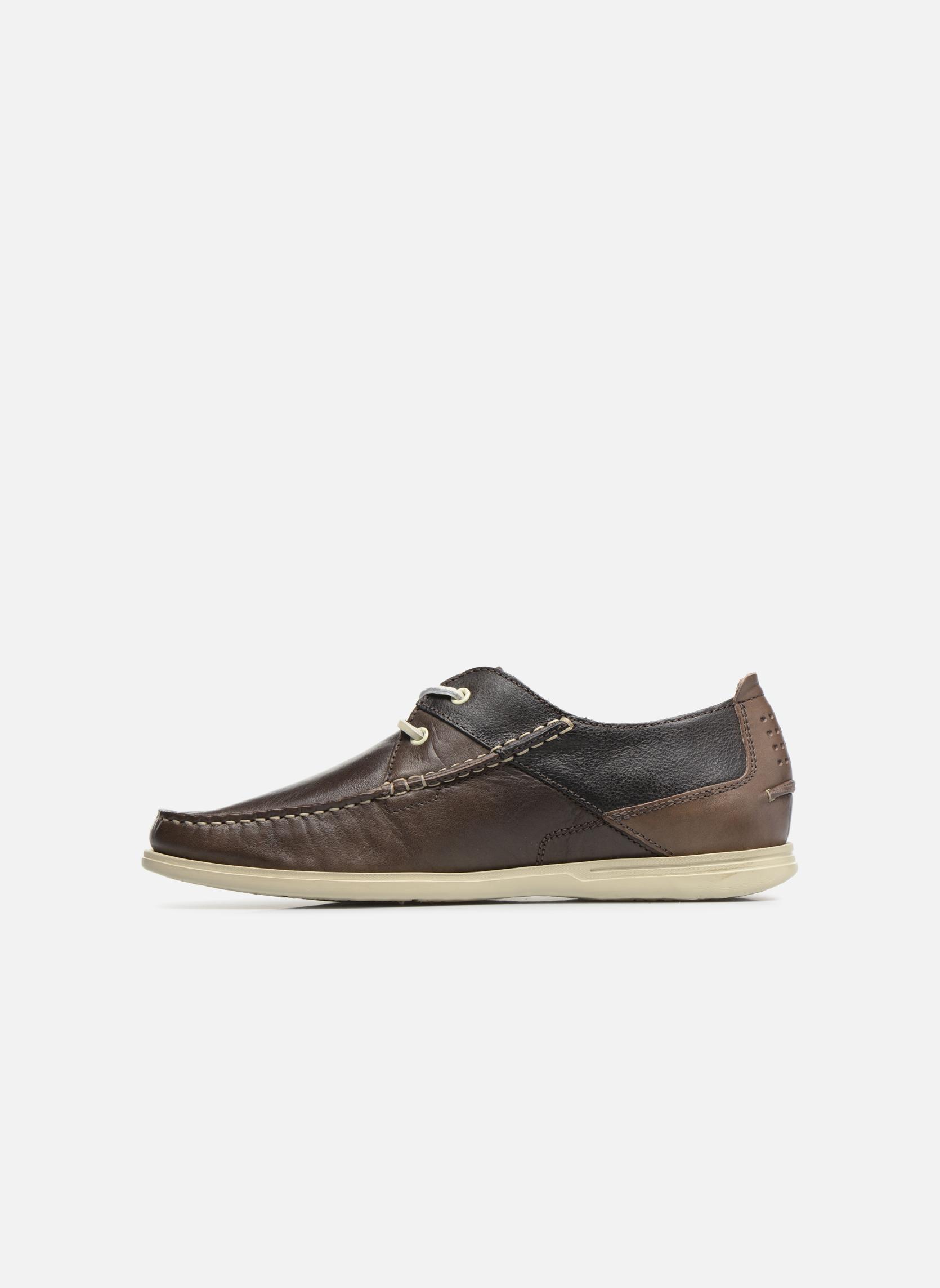 Chaussures à lacets TBS Fortye Marron vue face