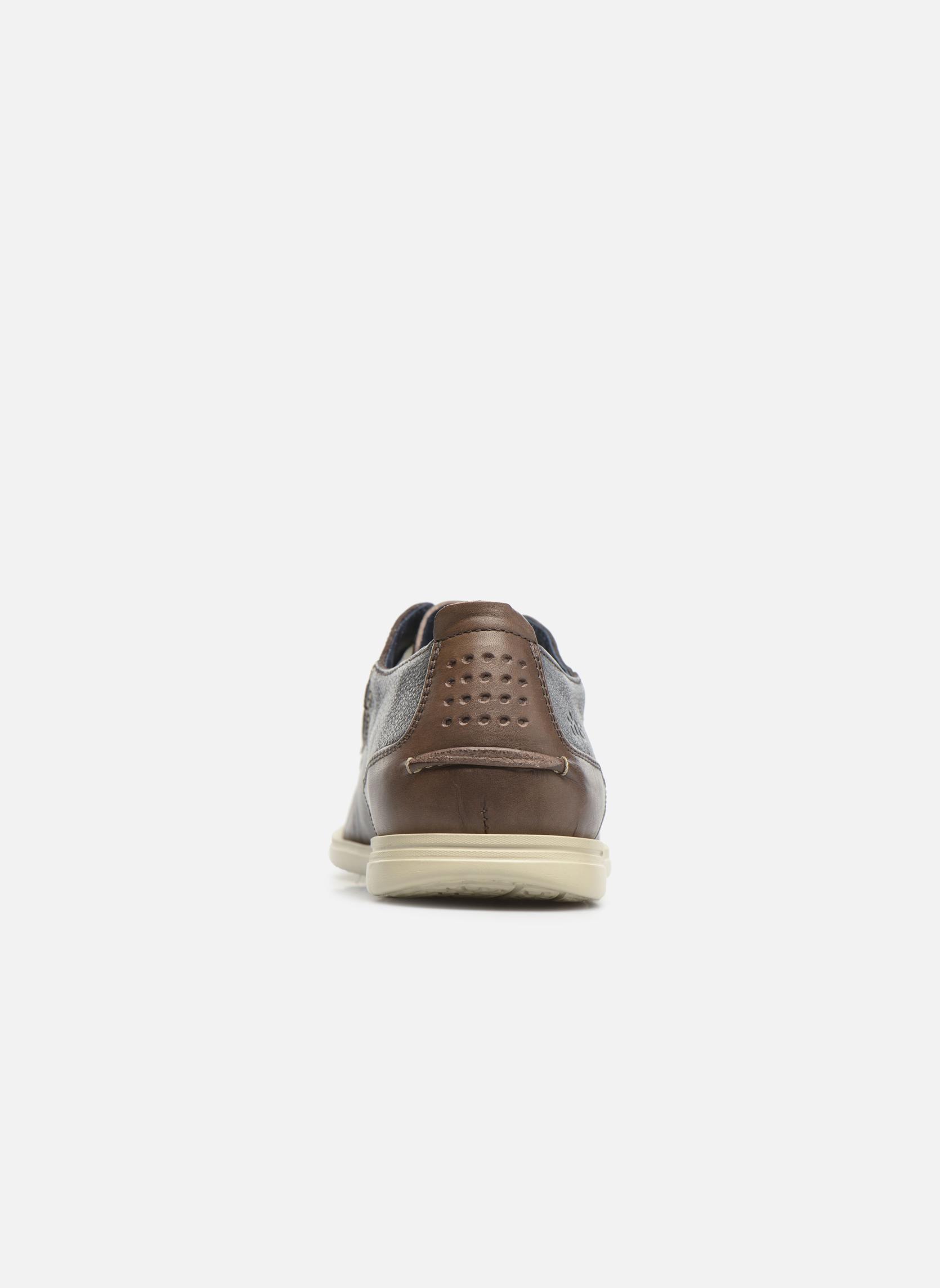 Chaussures à lacets TBS Fortye Marron vue droite