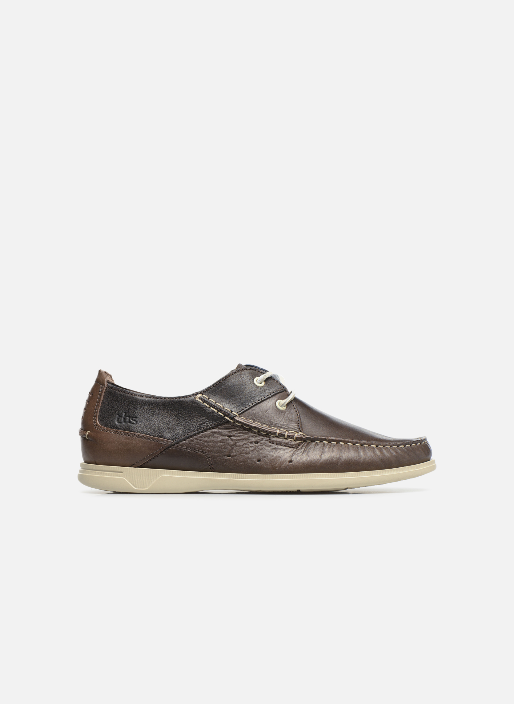Chaussures à lacets TBS Fortye Marron vue derrière
