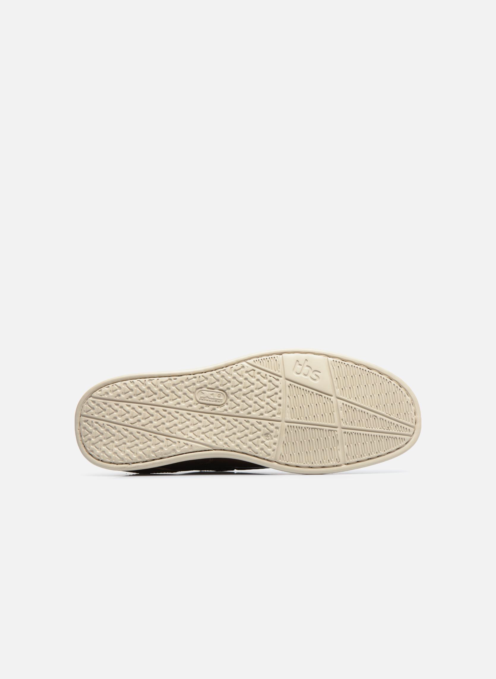 Chaussures à lacets TBS Fortye Marron vue haut