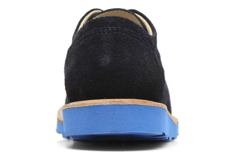 Alfie Dark Navy Suede/Turquoise