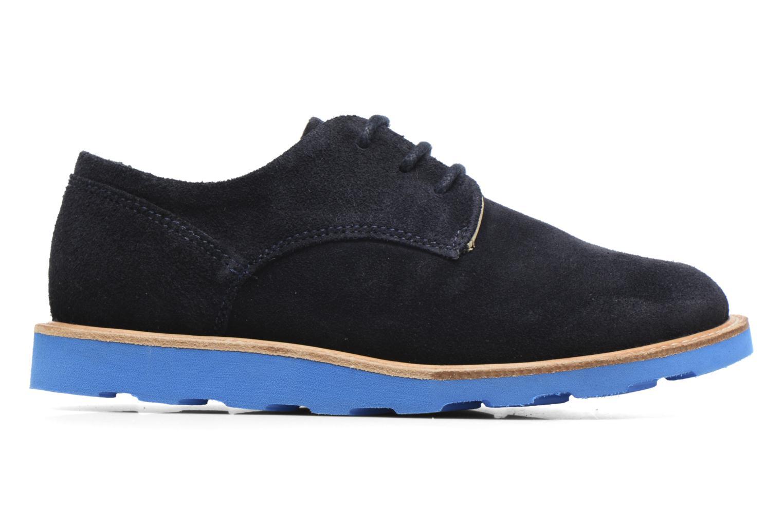 Chaussures à lacets Young Soles Alfie Bleu vue derrière