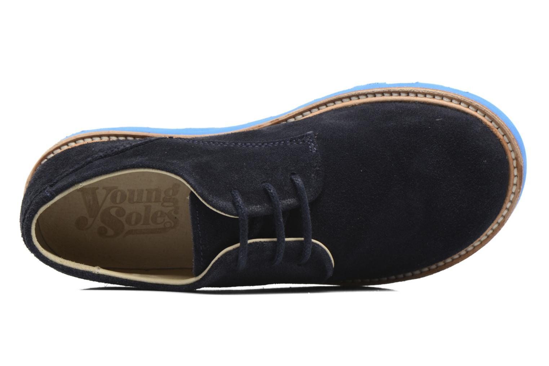 Chaussures à lacets Young Soles Alfie Bleu vue gauche