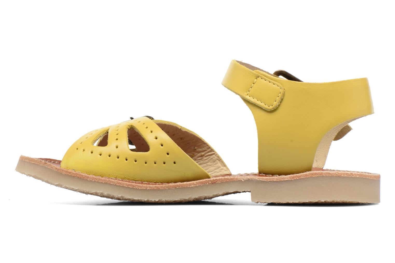 Sandales et nu-pieds Young Soles Pearl Jaune vue face