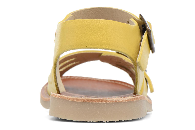 Sandales et nu-pieds Young Soles Pearl Jaune vue droite