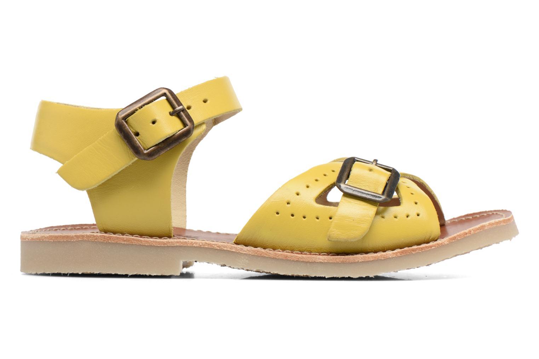 Sandales et nu-pieds Young Soles Pearl Jaune vue derrière