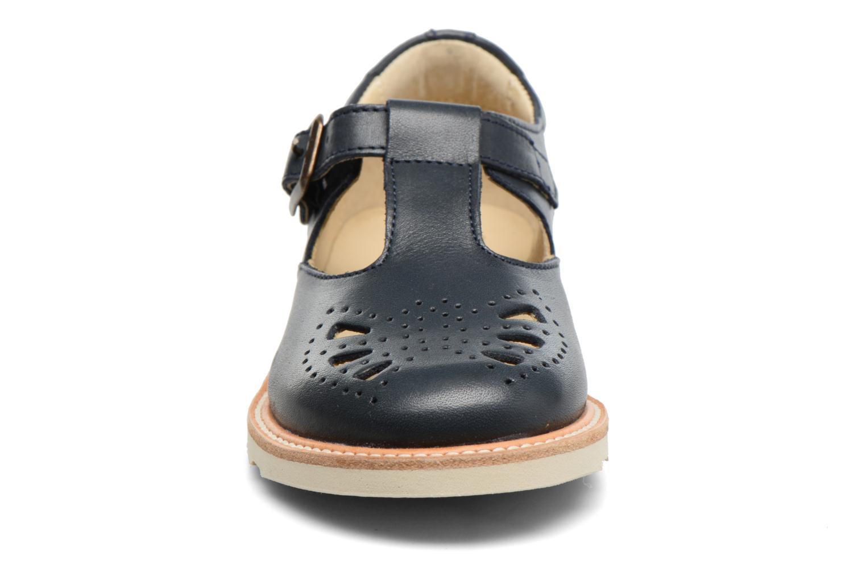 Rosie Navy leather