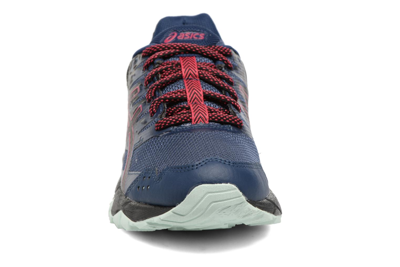 Chaussures de sport Asics Gel-Sonoma 3 G-Tx W Bleu vue portées chaussures
