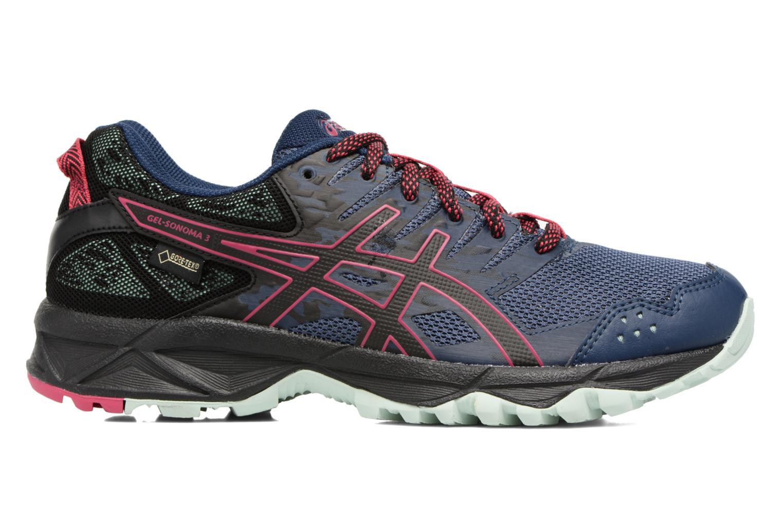 Chaussures de sport Asics Gel-Sonoma 3 G-Tx W Bleu vue derrière