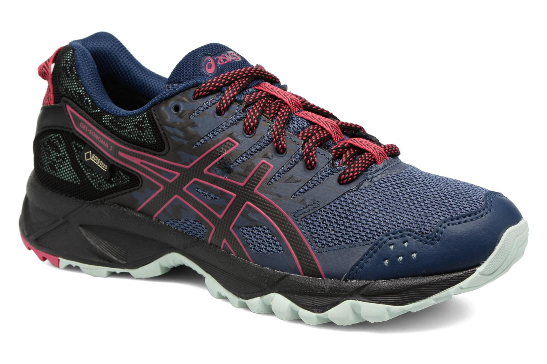 Chaussures de sport Asics Gel-Sonoma 3 G-Tx W Bleu vue détail/paire