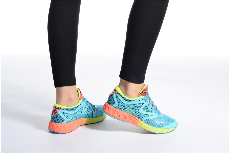 Chaussures de sport Asics Gel-Noosa Tri 12 W Bleu vue bas / vue portée sac