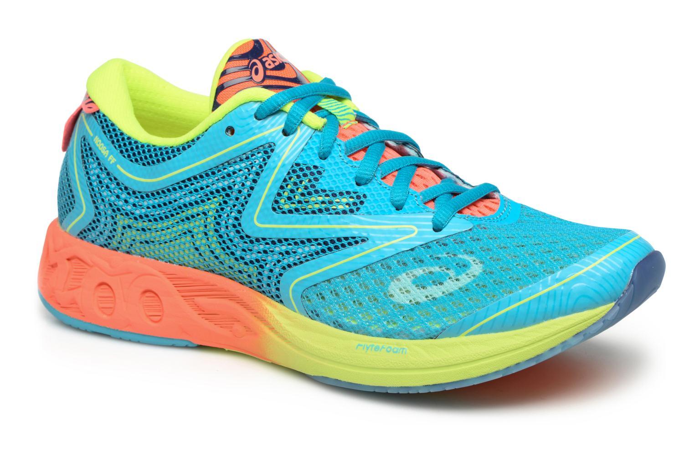 Chaussures de sport Asics Gel-Noosa Tri 12 W Bleu vue détail/paire